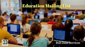 Education Industry Mailing List